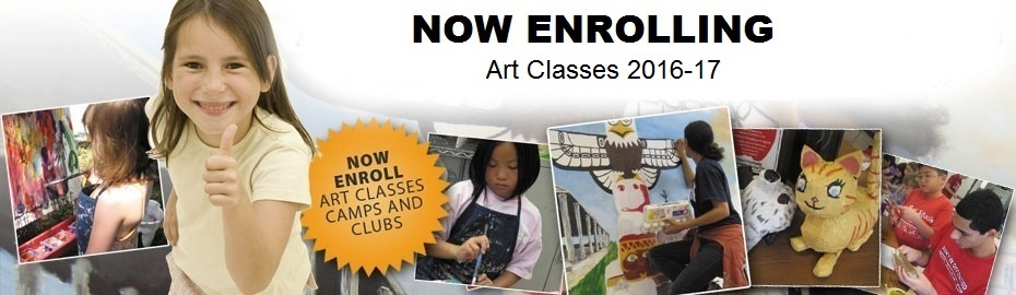 Now Enrolling Summer Camps/Art Classes 2014